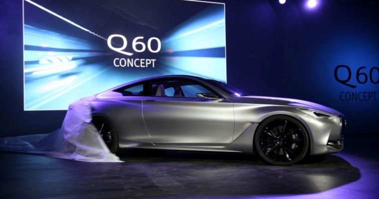 Infiniti Q60 Concept Reveal at Detroit Auto Show