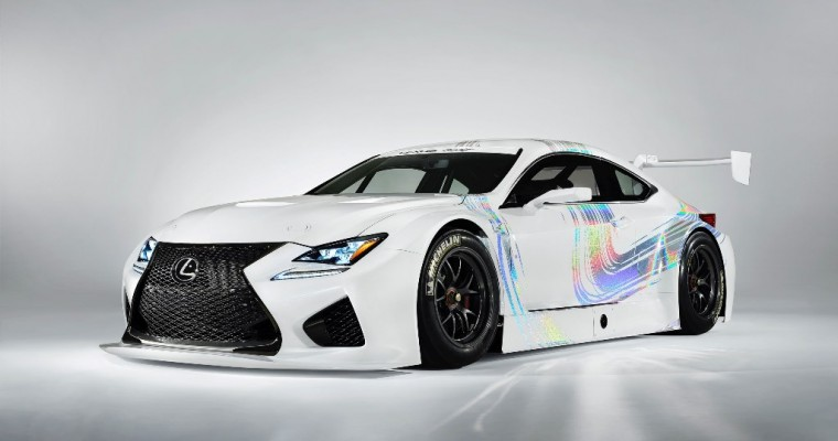 Lexus RC F GT3 Race Car to Enter International GT3 Racing This Year