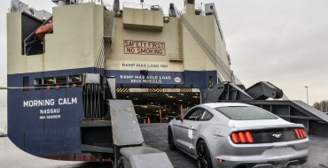2015 Mustang Export Begins, Pricing for UK Announced