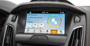 Ford Announces AccuWeather MinuteCast for SYNC 3