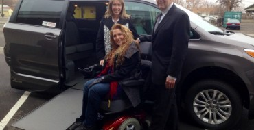 Toyota Delivers Wheelchair-Accessible Minivan to Star Spangled Salute Contest Winner