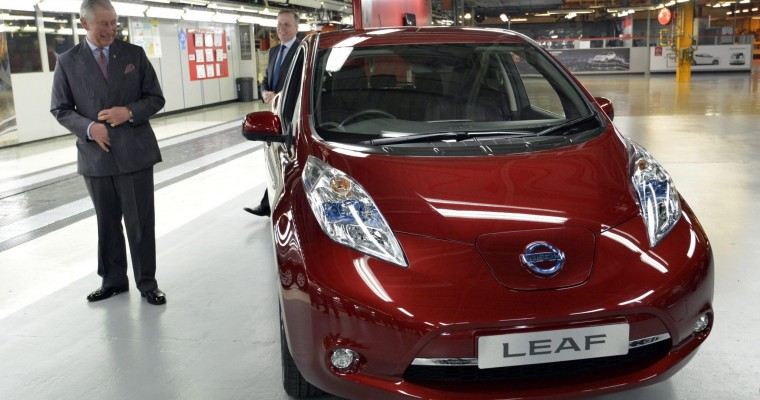 Nissan Sets Sales Record in Europe