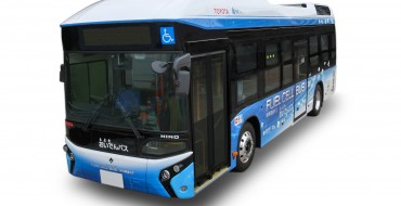 Toyota Fuel Cell Bus Begins Operations in Toyota City, Japan