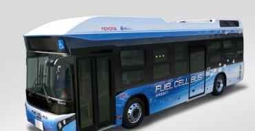 Toyota Hydrogen-Powered Bus Starts Testing in Tokyo
