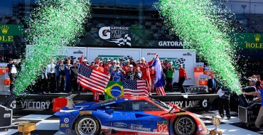Chip Ganassi Racing's 'Star Car' Wins 2015 Rolex 24