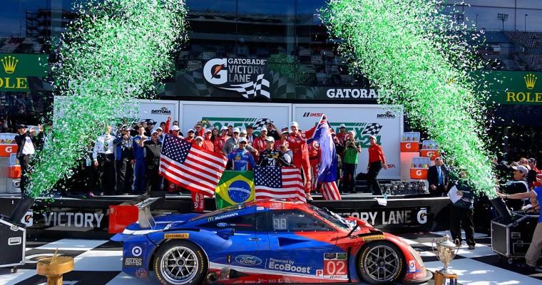 Chip Ganassi Racing's 'Star Car' Wins 2015 Rolex 24