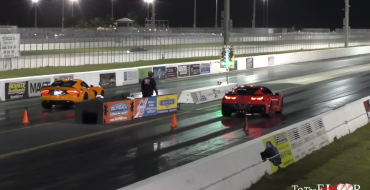 The Time Attack on the Race Track: Chevy Corvette Z06 vs Dodge Viper TA