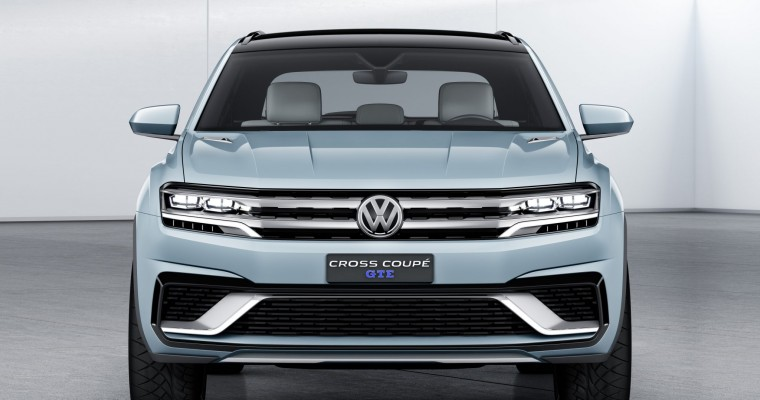 VW Cross Coupe GTE Has World Premiere at Detroit Auto Show