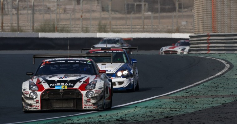 GT Academy Drivers Place Fifth Overall at Dubai 24 Hours in Nissan GT-R