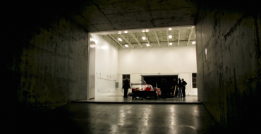 Nissan Tweets Mysterious Race Car Photo, Presumably in Bruce Wayne's Bat Cave