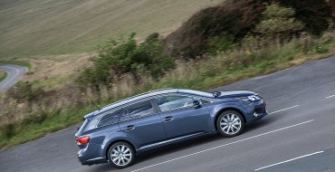 Camouflaged Redesigned Toyota Avensis Wagon Spotted in Europe
