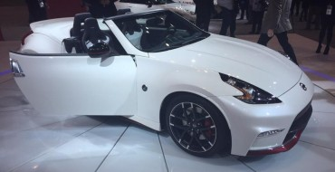 Nissan 370Z NISMO Roadster Goes Topless at Chicago Auto Show