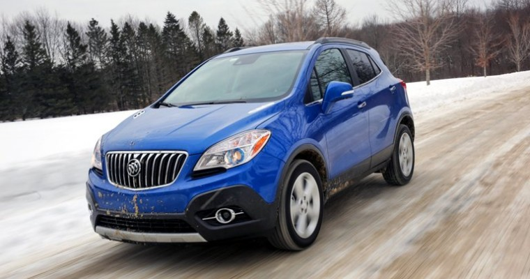 Buick Sales Decline 5.2% in April; Encore Sales Strong