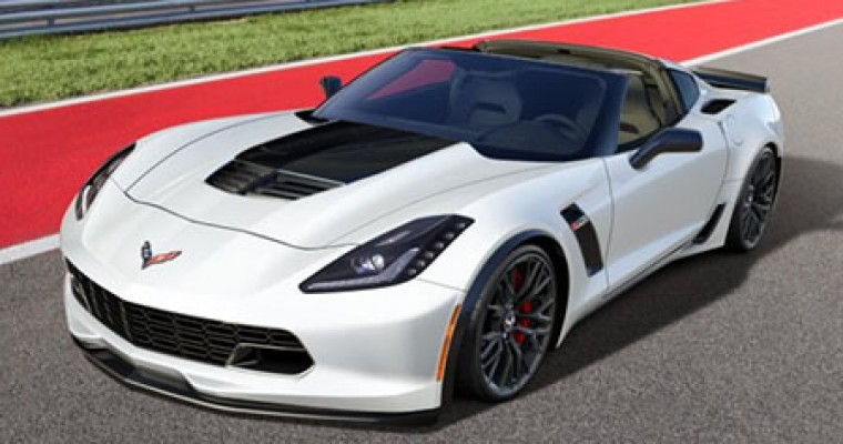 Win this Arctic White 2015 C7 Corvette Z06