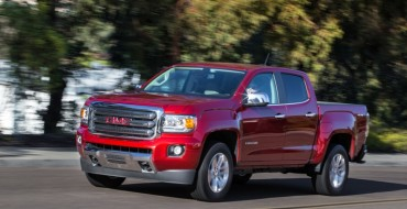 2015 GMC Canyon Tops 2015 Midsize Pickup Challenge