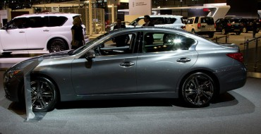 Infiniti Sales Up 8.8 Percent in April