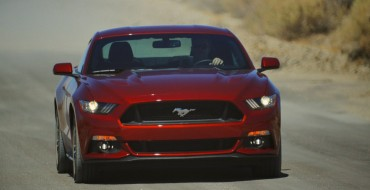 2015 Mustang Gets Five-Star Overall Vehicle Score from NHTSA