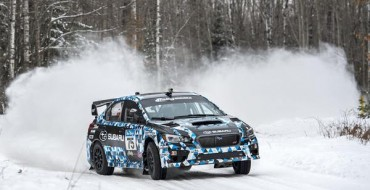 [VIDEO] 2015 Subaru WRX STI Rally Car Debuts, Wins at Sno*Drift Rally