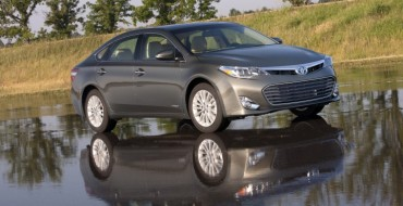 2015 Toyota Avalon Hybrid Tops Cars.com's Worry-Free Index List
