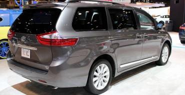 2015 Toyota Sienna Named Family Car and Minivan of Texas
