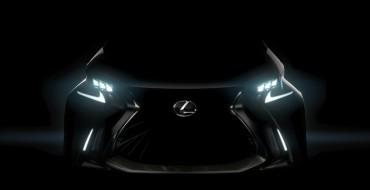 Lexus Teases LF-SA Concept Before Geneva Reveal