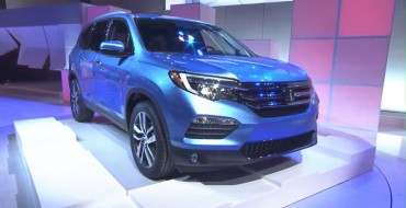 Next-Generation Honda Pilot SUV Makes Exciting Debut in Chicago