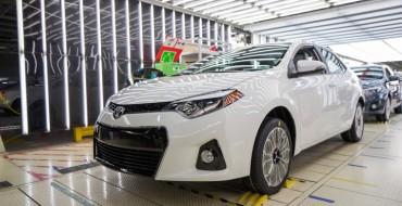 500,000th Mississippi-Built Corolla Rolls off Line
