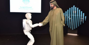 Honda ASIMO Visits Dubai, Meets Global Leaders He will Overthrow