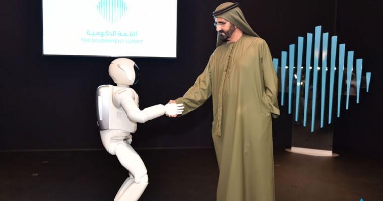 Honda ASIMO Visits Dubai, Meets Global Leaders He will Overthrow
