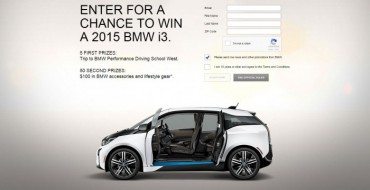 Enter BMW's i Secret Sweepstakes, Win Electric i3 from Super Bowl Ad