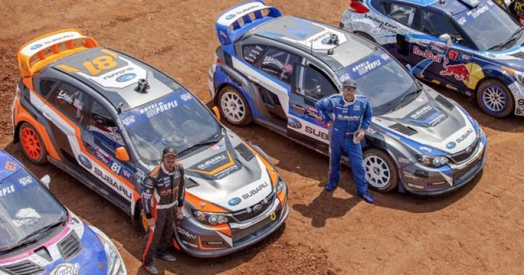 Isachsen, Lasek Re-sign with Subaru Rally Team USA