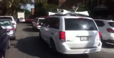 Are These Dodge Grand Caravans Apple's Self-Driving Cars?