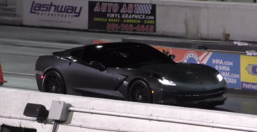 Drag Race Pits C7 Corvette Stingray vs First-Gen Camaro [VIDEO]