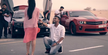 Dubai Man Proposes with Help from UAE Camaro Club