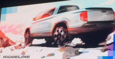 Next-Gen Honda Ridgeline Teased in Chicago