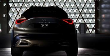 Infiniti Teases QX30 Concept Ahead of Geneva Motor Show