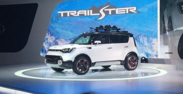 [PHOTOS] Kia Trail'ster Concept Makes a Splash with Chicago Debut