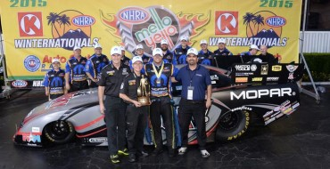 Matt Hagan Draws First Blood in All-Mopar NHRA Winternationals