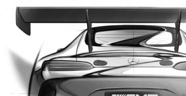 Mercedes-AMG GT3 Photos Teased Ahead of Geneva