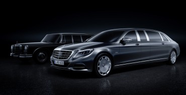The Mercedes-Maybach Pullman is a 21-Foot Long Palace on Wheels
