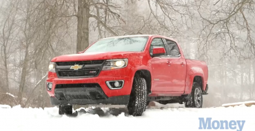 2015 Chevy Colorado Z71 Takes on Blizzapocalypsegeddon '15