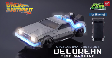 Great Scott, it's a Back to the Future II DeLorean iPhone 6 Cover!