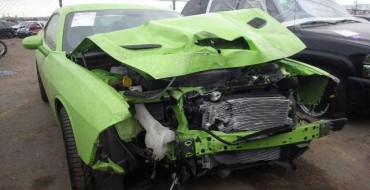First Wrecked Challenger SRT Hellcat Goes to Auction