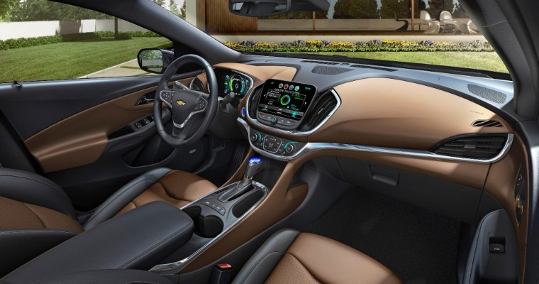 2016 Chevy Volt Interior: Bolder and More Cohesive