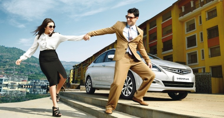 Back to Basics: Hyundai Debuts Simplified 2015 Fluidic Verna 4S