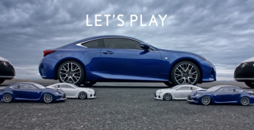 Lexus Super Bowl Ad Features RC Lexus RC (and a Real One)