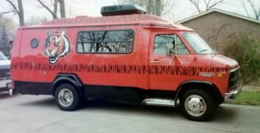 Cincinnati Bengals Van is Sadness on Wheels