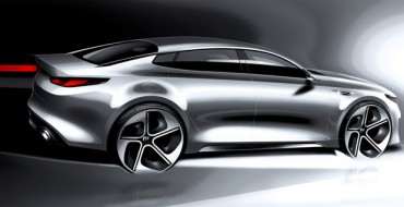 2016 Kia Optima Looking Bold in New Teaser Sketches