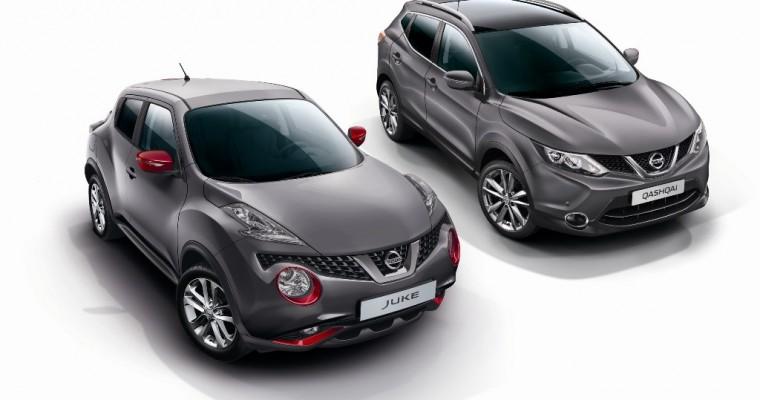 France Gets Design Edition Nissan Juke and Qashqai