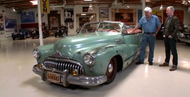 Jay Leno Drives a Corvette-Powered 1948 Buick Super Convertible